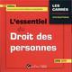 L'ESSENTIEL DU DROIT DES PERSONNES - 12EME EDITION