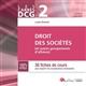 DCG 2-DROIT DES SOCIETES (ET AUTRES GROUPEMENTS D'AFFAIRES) 7EME EDITION - 38 FICHES DE COURS POUR A