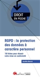 RGPD : LA PROTECTION DES DONNEES A CARACTERE PERSONNEL