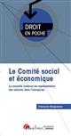 LE COMITE SOCIAL ET ECONOMIQUE