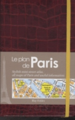 PARIS LE MINI PLAN CHIC ROUGE