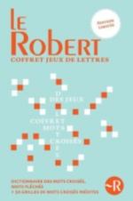 COFFRET JEUX DE LETTRES - DICTIONNAIRE DE MOTS CROISES + LES MOTS CROISES DU PETIT ROBERT CAHIER 1