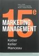 MARKETING MANAGEMENT, 15E EDITION + MYLAB VF Manceau Delphine Pearson