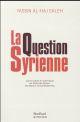LA QUESTION SYRIENNE
