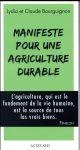 MANIFESTE POUR UNE AGRICULTURE DURABLE Bourguignon Lydia Actes Sud