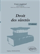 DROIT DES SURETES, 2E EDITION