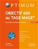 OBJECTIF 600 AU TAGE-MAGE  5E EDITION
