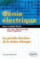 Génie électrique, cours complet illustré François Christophe Ellipses