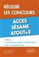 Réussir les concours Accès et Sésame, Atout+3