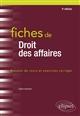 FICHES DE DROIT DES AFFAIRES - 3E EDITION