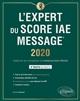 L'EXPERT DU SCORE IAE MESSAGE - EDITION 2020