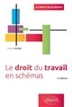 LE DROIT DU TRAVAIL EN SCHEMAS - 2E EDITION
