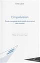 L'IMPREVISION - ETUDE COMPAREE DROIT PUBLIC-DROIT PRIVE DES CONTRATS