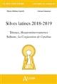 SLIVES LATINES 2018-2019 TERENCE HEAUTONTIMOROUMENOS Salamon Gérard Atlande