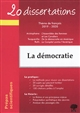20 DISSERTATIONS SUR LE THEME FRANCAIS 2019-2020 PREPA SCIENTIFIQUE DEMOCRATIE