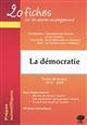 20 FICHES SUR LES OEUVRES PROGRAMME THEME FRANCAIS 2019-2020 PREPA DEMOCRATIE