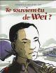 TE SOUVIENS-TU DE WEI ? Zaü HongFei cultures