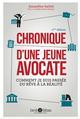 CHRONIQUE D'UNE JEUNE AVOCATE
