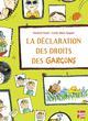 DECLARATION DES DROITS DES GAR