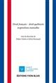 DROIT FRANCAIS - DROIT QUEBECOIS INSPIRATIONS MUTUELLES