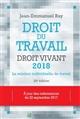DROIT DU TRAVAIL  DROIT VIVANT 2018
