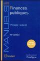 FINANCES PUBLIQUES (15E EDITION)