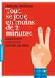 TOUT SE JOUE EN MOINS DE 2 MINUTES - LA PREMIERE IMPRESSION EST CELLE QUI RESTE