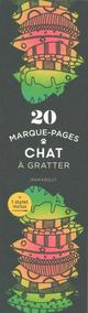 MARQUE PAGES A GRATTER CHAT
