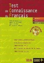 TEST DE CONNAISSANCE DU  FRANCAIS BOURSIN JEAN-LOUIS BELIN