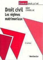 DROIT CIVIL LES REGIMES MATRIMONIAUX 6EME