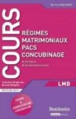 REGIMES MATRIMONIAUX : PACS, CONCUBINAGE, 2EME EDITION (LES)