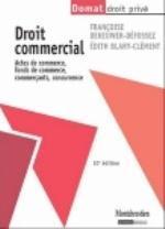 DROIT COMMERCIAL,ACTES DE COMMERCE 10ED