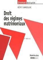 DROIT DES REGIMES MATRIMONIAUX,7EME EDITION