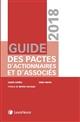 GUIDE DES PACTES D ACTIONNAIRES ET D ASSOCIES 2018