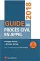 GUIDE DU PROCES CIVIL EN APPEL 2018