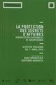 LA PROTECTION DE SECRETS D AFFAIRES  PERSPECTIVES NATIONALES ET EUROPEENNES