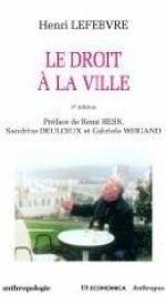 DROIT A LA VILLE, 3E ED. (LE)