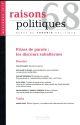 RAISONS POLITIQUES 68