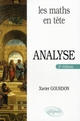 LES MATHS EN TETE  -  ANALYSE (2E EDITION)