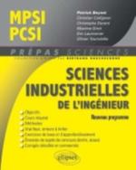 Sciences industrielles de l'ingénieur MPSI-PCSI