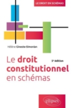 LE DROIT CONSTITUTIONNEL EN SCHEMAS, 5E EDITION