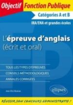 L EPREUVE D ANGLAIS (ECRIT ET ORAL)