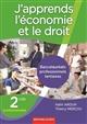 J'APPRENDS L'ECONOMIE ET LE DROIT 2DE PRO TERTIAIRE Mercou Thierry Bertrand-Lacoste
