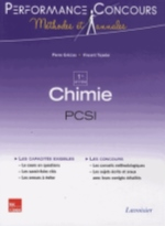 CHIMIE 1RE ANNEE PCSI (COLLECTION LE TOUT-EN-1)