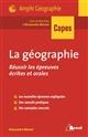 REUSSIR LES EPREUVES DE GEOGRAPHIE Monot Alexandra Bréal