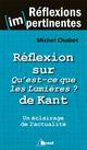 Réflexion sur Qu'est-ce que les Lumières ? de Kant Chabot Michel Bréal