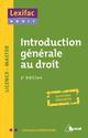 INTRODUCTION GENERALE AU DROIT 2ED