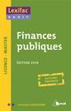 FINANCES PUBLIQUES 2018
