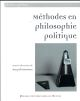 METHODES EN PHILOSOPHIE POLITIQUE