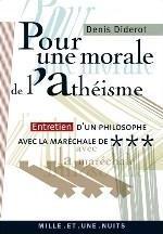 POUR UNE MORALE DE L'ATHEISME DIDEROT D 1001 NUITS